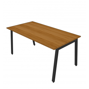 BFBA008 - Bàn ăn gỗ tre 80x160cm chân Aton