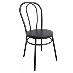 BFG010 - Ghế cafe lưng tựa bằng sắt sơn tĩnh điện
