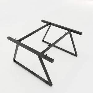 CBTH013 - Chân bàn cụm 2 hệ Trapeze II Concept 120x120 lắp ráp
