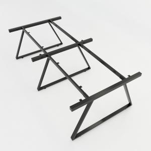 CBTH014 - Chân bàn cụm 4 hệ Trapeze II Concept 240x120 lắp ráp