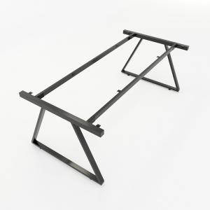 CBTH011 - Chân bàn họp hệ Trapeze II Concept 200x100 lắp ráp
