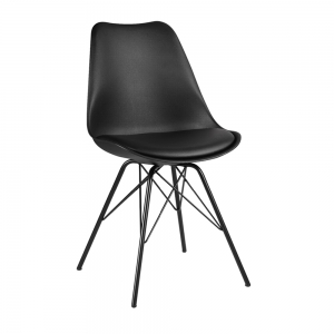 BFG019 - Ghế tựa lưng Eames lót nệm chân sắt
