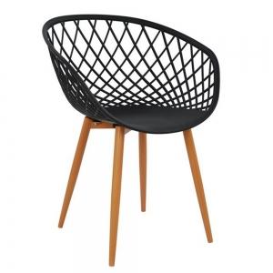 BFG037 - Ghế cafe lưng nhựa đan lưới