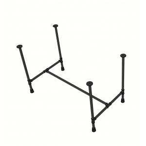 CBPP005 - Chân bàn ống nước sắt tiện ren 70x120x73cm