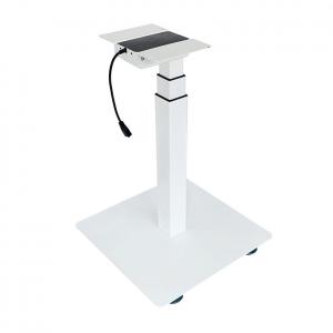 CBNT33-E1 - Chân bàn nâng hạ điện 1 trụ đế vuông