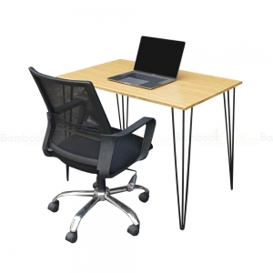 BFCB013 - Combo bàn làm việc HairBamboo 1m và ghế nhân viên