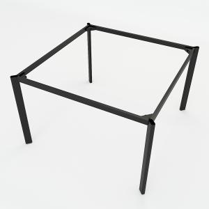 BFCBOV17 - Chân bàn cụm 2 sắt Oval lắp ráp 120x120cm