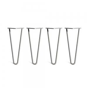CBHP004 - Bộ chân bàn Hairpin 4 cái cao 30cm