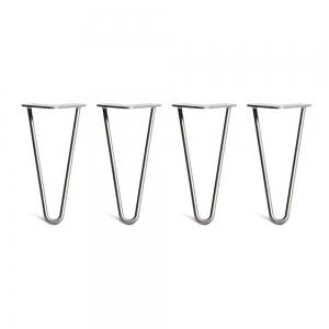 CBHP003 - Bộ chân bàn Hairpin 4 cái cao 25cm