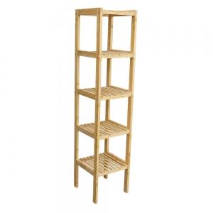 BFTK004- Kệ gỗ tre ép 5 tầng (34x33x145cm)