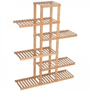 BFKS023 - Kệ trang trí gỗ tre 98x28x132cm