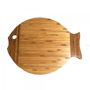 BFTT005 - Thớt tre hình cá 34x27x1.5 (cm)