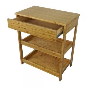 BFTK008- Kệ tre nhà bếp có hộc kéo 3 tầng
