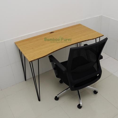 bàn công nghệ S Bamboo chân chữ z