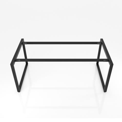 Chân bàn họp sắt 25x50 kích thước 80x160 (cm)