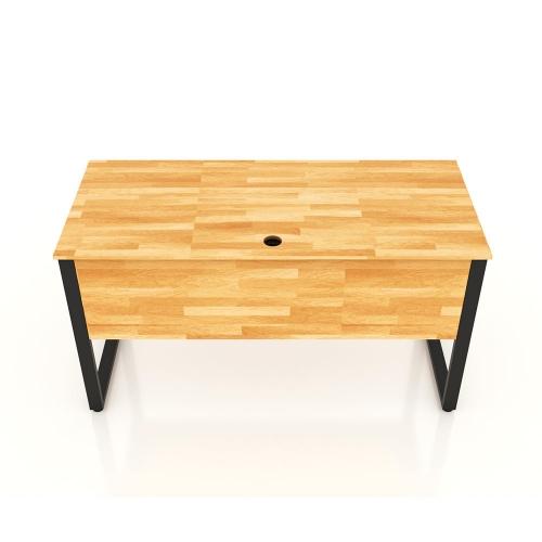 Chân bàn làm việc sắt 25x50 kích thước 140x70 (cm)