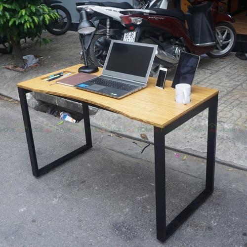 ZB006a - Bàn công nghệ ZBamboo chân 25x50 lắp ráp - 120x60x75 (cm)