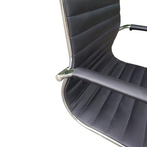 BFGVP009 - Ghế xoay văn phòng lưng nệm chân sắt