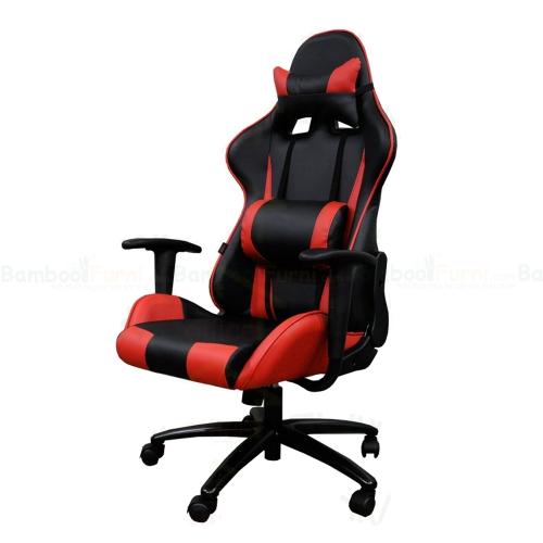GC003 - Ghế Game thủ chân xoay màu đỏ GamingChair