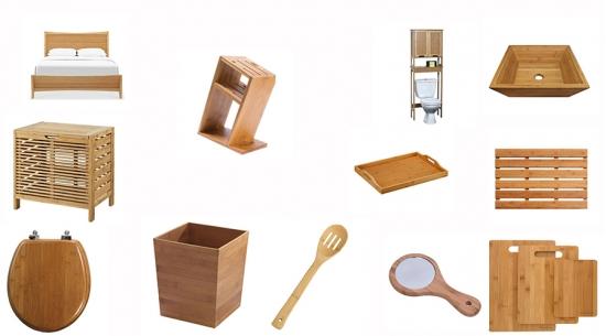 1001 Sản phẩm từ vật liệu tre ghép tấm phổ biến trên thế giới