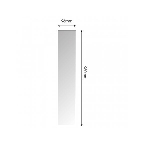 SHB15R1 - Sàn tre nan ép ngang màu tự nhiên 96mm