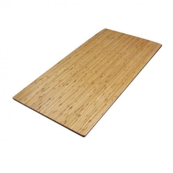 MB38007 - Mặt bàn gỗ tre ghép nguyên tấm 1m6x80 đã PU hoàn thiện