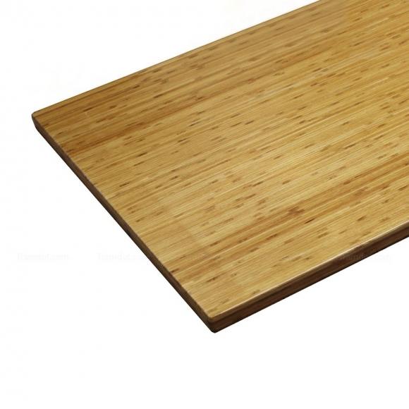 MB38004 - Mặt bàn gỗ tre ghép nguyên tấm 1m4x70 đã PU hoàn thiện