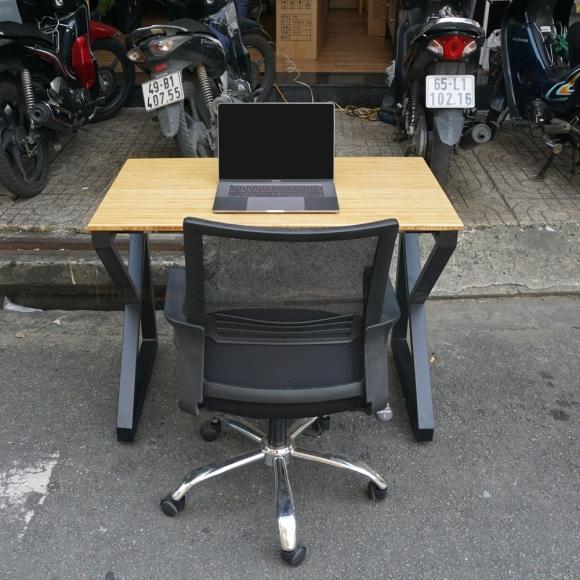BFCB010 - Combo bàn làm việc chữ K và ghế văn phòng