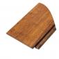 SWB14C2 - Sàn tre ép khối màu nâu cafe nối click 135mm