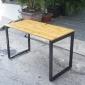 SB38002- Bàn làm việc SBamboo 1.2mx60cm chân sắt 25x50 lắp ráp