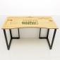 ZB008a - Bàn công nghệ gỗ tre zBamboo màu tự nhiên chân L (1200cmx60cmx75cm)