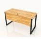 BFCBCN02 - Chân bàn làm việc sắt 25x50 kích thước 140x60 (cm)