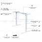 FB002 - Bàn điều chỉnh chiều cao FlexiBamboo - 120x60 (cm)