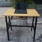 BFSTB001 - Bàn làm việc đứng StaBamboo 100x60cm chân chữ A lắp ráp