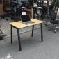 BFATB001 - Bàn làm việc AtonBamboo 100x60cm chân sắt lắp ráp