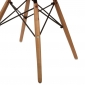BFG024 - Ghế Eames thổ cẩm có tựa tay chân gỗ sồi