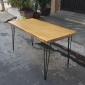 BFHB019 - Bàn Giám đốc HairBamboo  70x140cm mặt gỗ tre 50mm