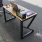 BFKB002 - Bàn làm việc KBamboo chân lắp ráp - 120x60x75(cm)