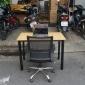 BFCB003 - Combo bàn làm việc OvalBamboo và ghế nhân viên