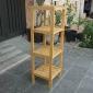 BFTK003- Kệ gỗ tre ép 4 tầng (34x33x110cm)