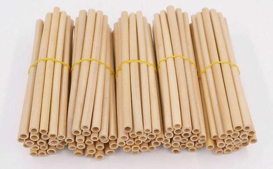 Sản xuất và sử dụng ống hút tre góp phần bảo vệ môi trường