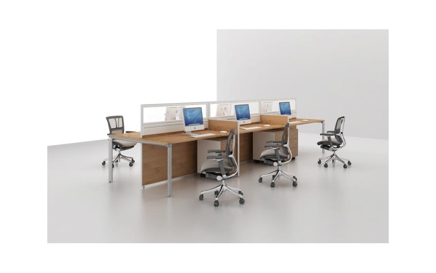 Nội thất văn phòng bằng vật liệu tre ép tấm sẽ thay thế các loại ván hiện nay