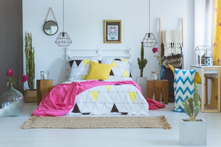 Cách trang trí phòng ngủ vừa đẹp sang vừa hợp phong thủy không nên bỏ qua