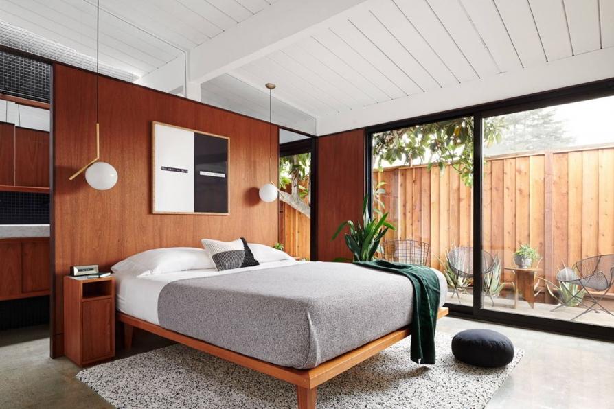 Ý tưởng thiết kế phòng ngủ đẹp mắt