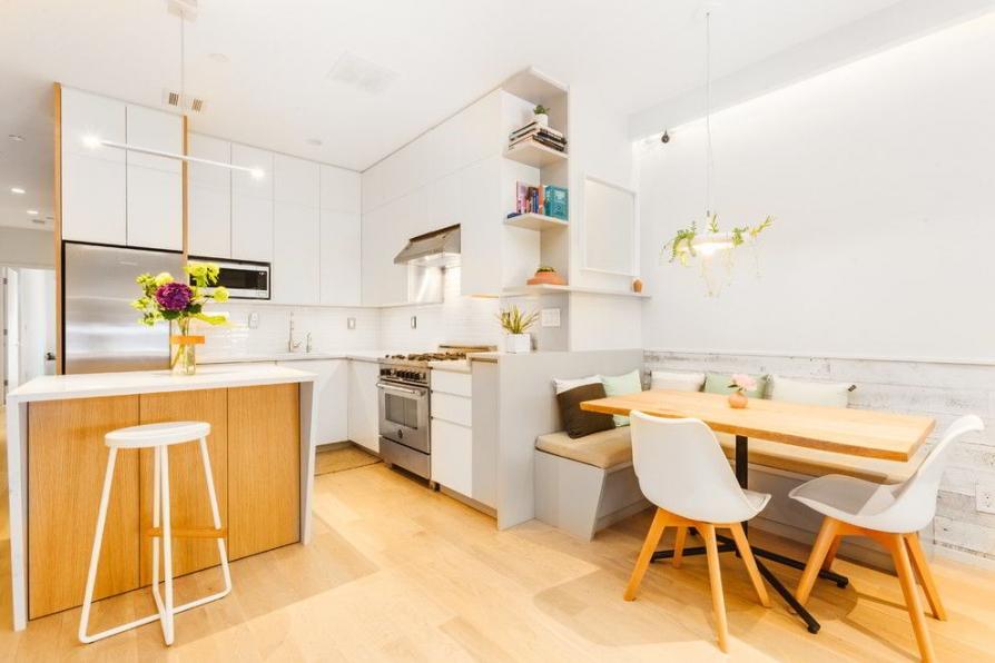 Ý tưởng thiết kế bếp và phòng ăn đẹp hiện đại